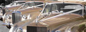 Oceanside Classic Vintage Car Rental Services, Antique, Rolls Royce, Bentley, White, Wedding Getaway, Beach