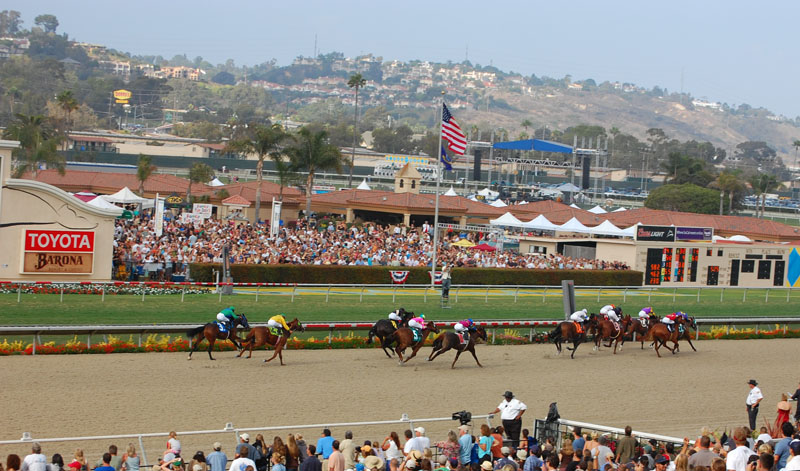 San Diego Del Mar Race Track Limousine Bus Transportation