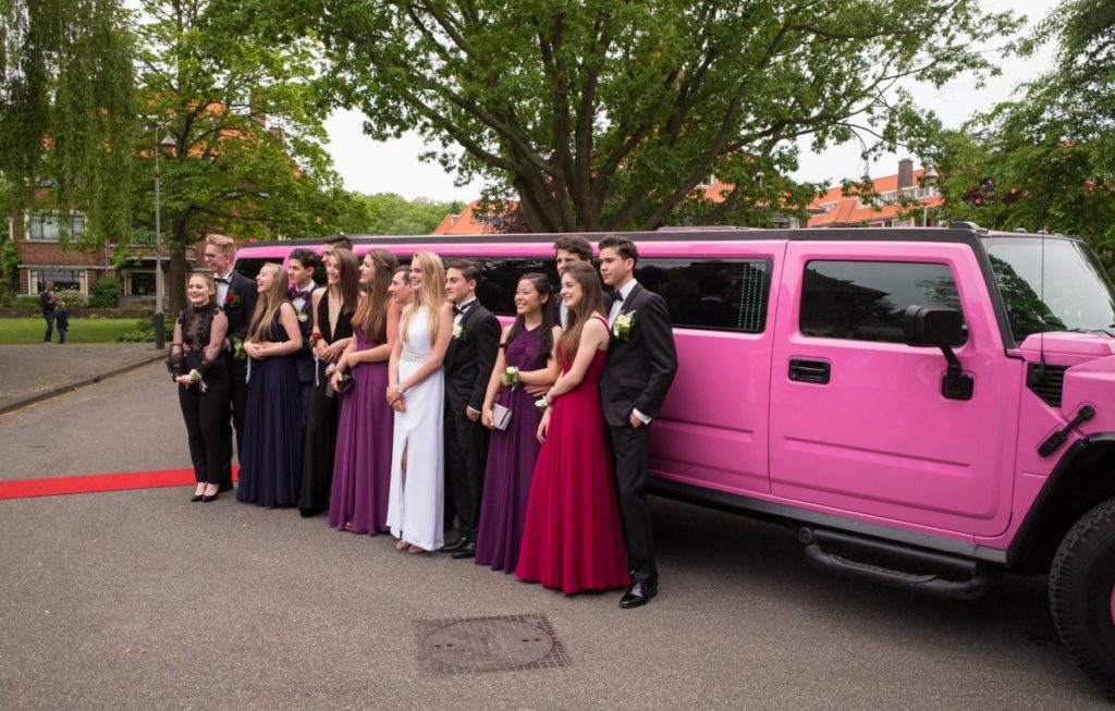 San Diego Homecoming Limousine Bus Rental Services