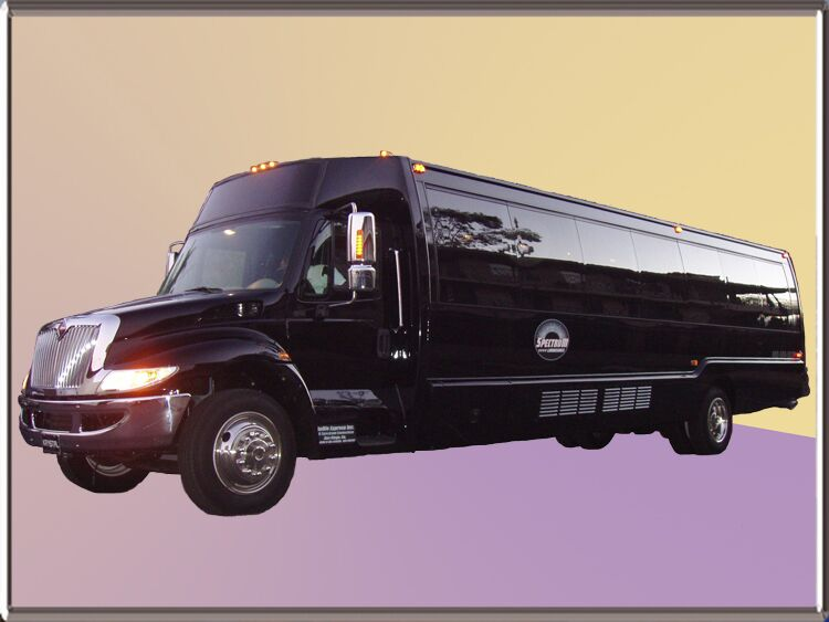 San Diego Limo Bus Rental Services 40 Passenger