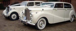 Fallbrook Classic Vintage Car Rental Services, Antique, Rolls Royce, Bentley, White, Wedding Getaway
