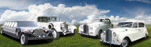 La Jolla Classic Vintage Car Rental Services, Antique, Rolls Royce, Bentley, White, Wedding Getaway