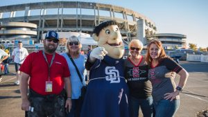 San Diego Tailgating Limousine Bus Rental Services, Limo, Party Bus, Shuttle, Charter, Van, SDSU Aztec Football, Padres Baseball, SDCCU Stadium, Qualcomm, Petco Park